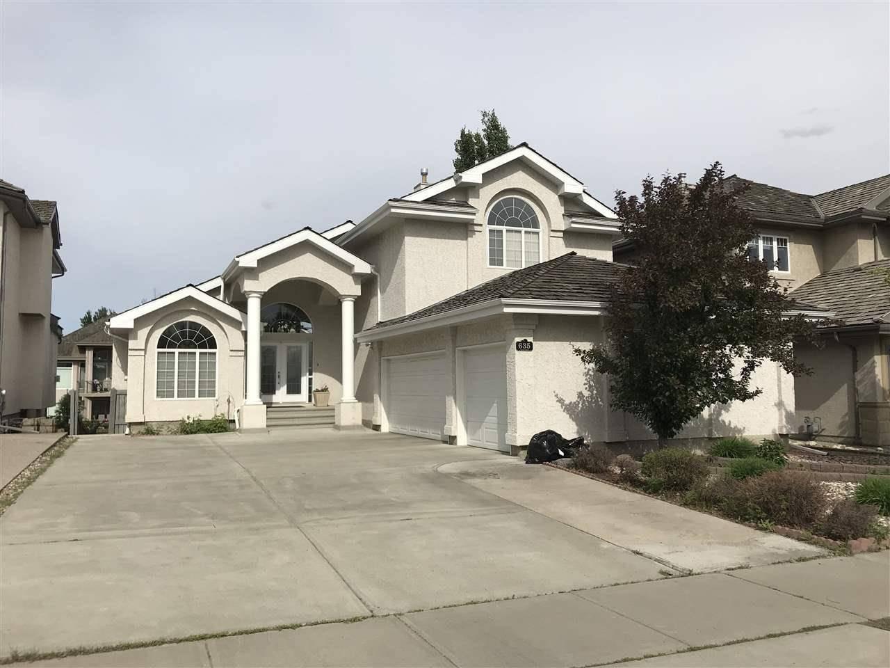 House for sale at 635 Dalhousie Cres Nw Edmonton Alberta - MLS: E4148064