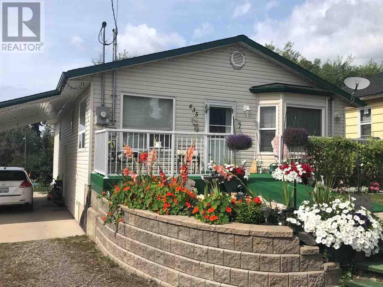 House for sale at 635 Lorne St Burns Lake British Columbia - MLS: R2395143