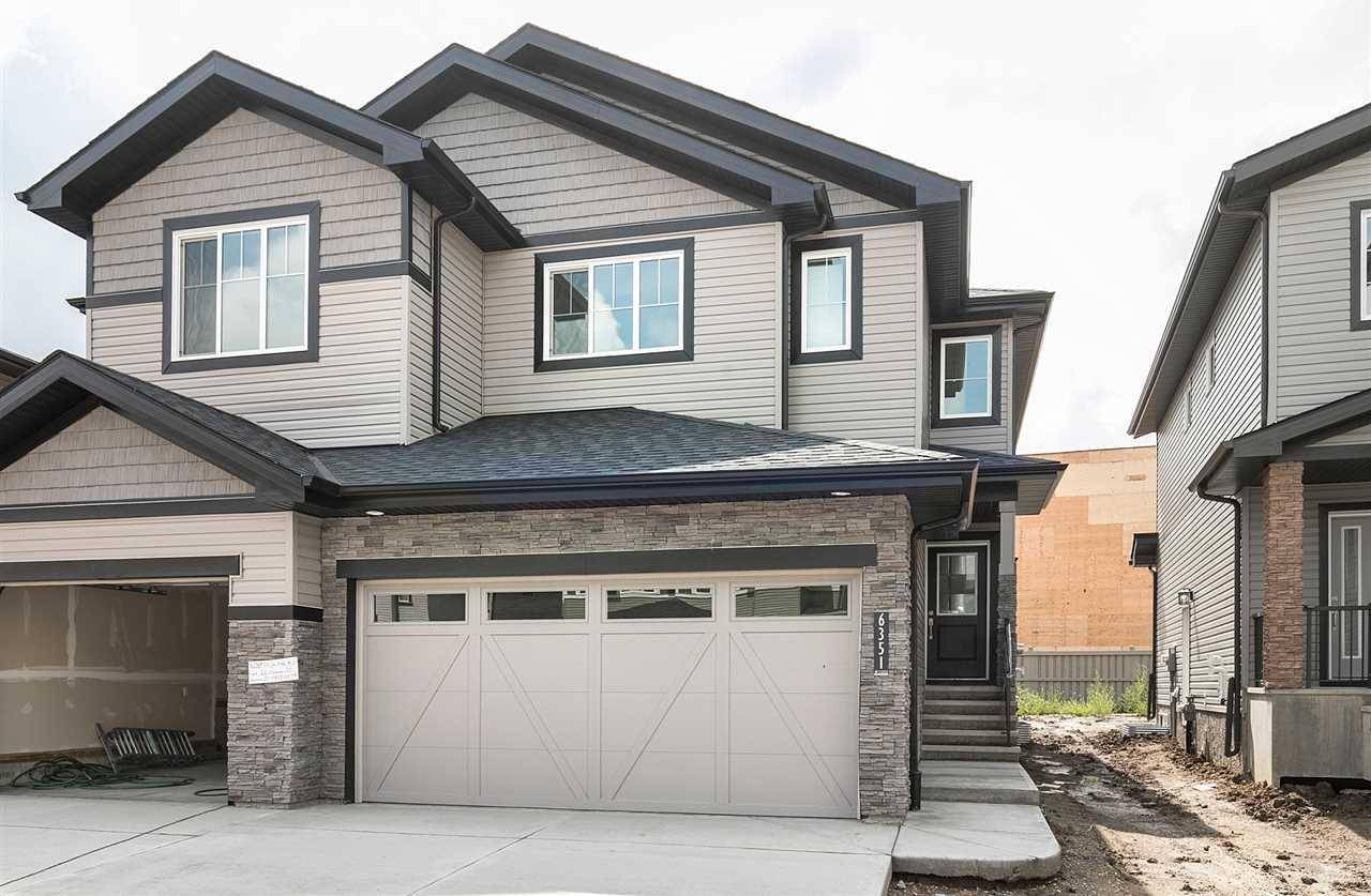 Townhouse for sale at 6351 Cartmell Rd Sw Edmonton Alberta - MLS: E4165381