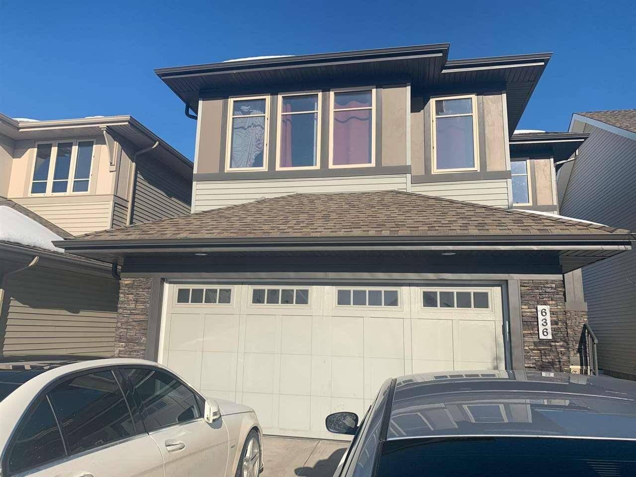 House for sale at 636 Adams Wy Sw Edmonton Alberta - MLS: E4186188