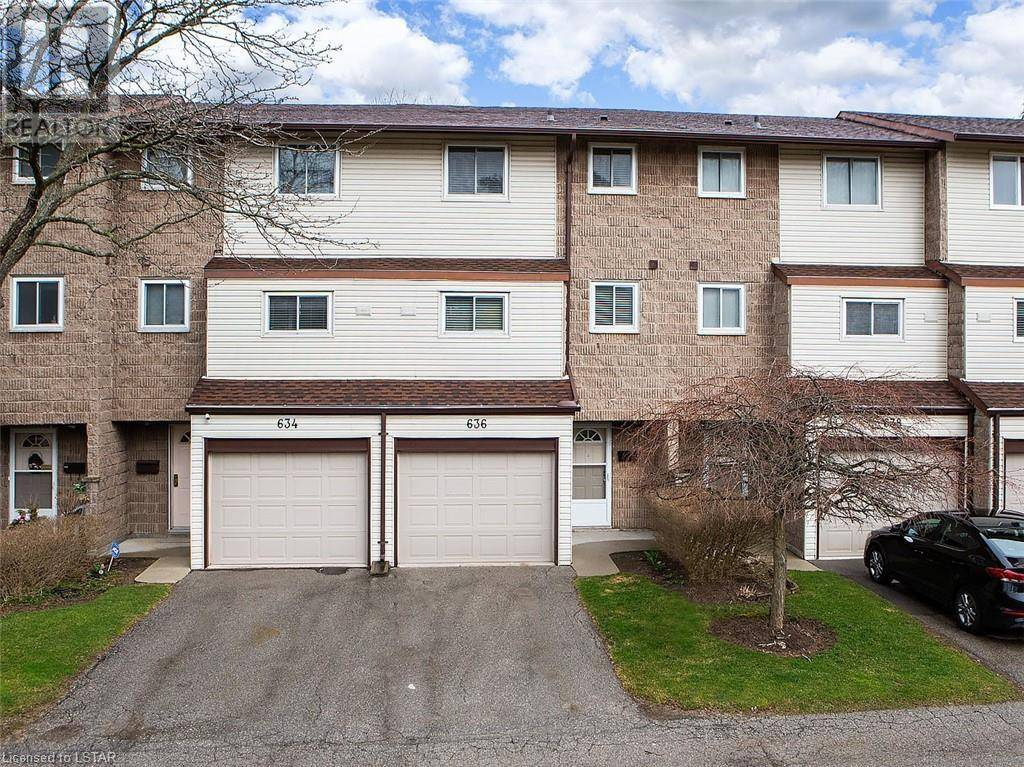 Townhouse for sale at 636 Wilkins St London Ontario - MLS: 252830