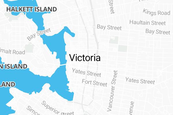 Map Of 638 Fisgard Street Victoria
