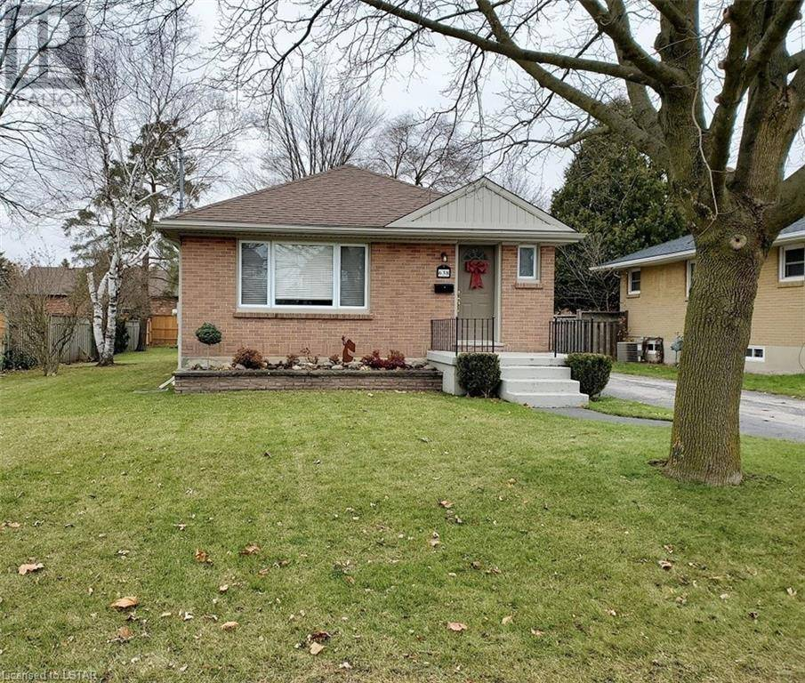 House for sale at 638 Tennent Ave London Ontario - MLS: 243598