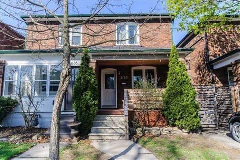 Townhouse for rent at 638 Willard Ave Toronto Ontario - MLS: W4520283