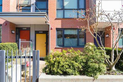Townhouse for sale at 6382 Ash St Vancouver British Columbia - MLS: R2366628