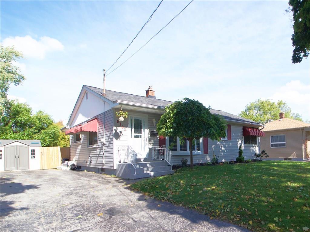 House for sale at 6383 Burdette Drive Niagara Falls Ontario - MLS: X4273860