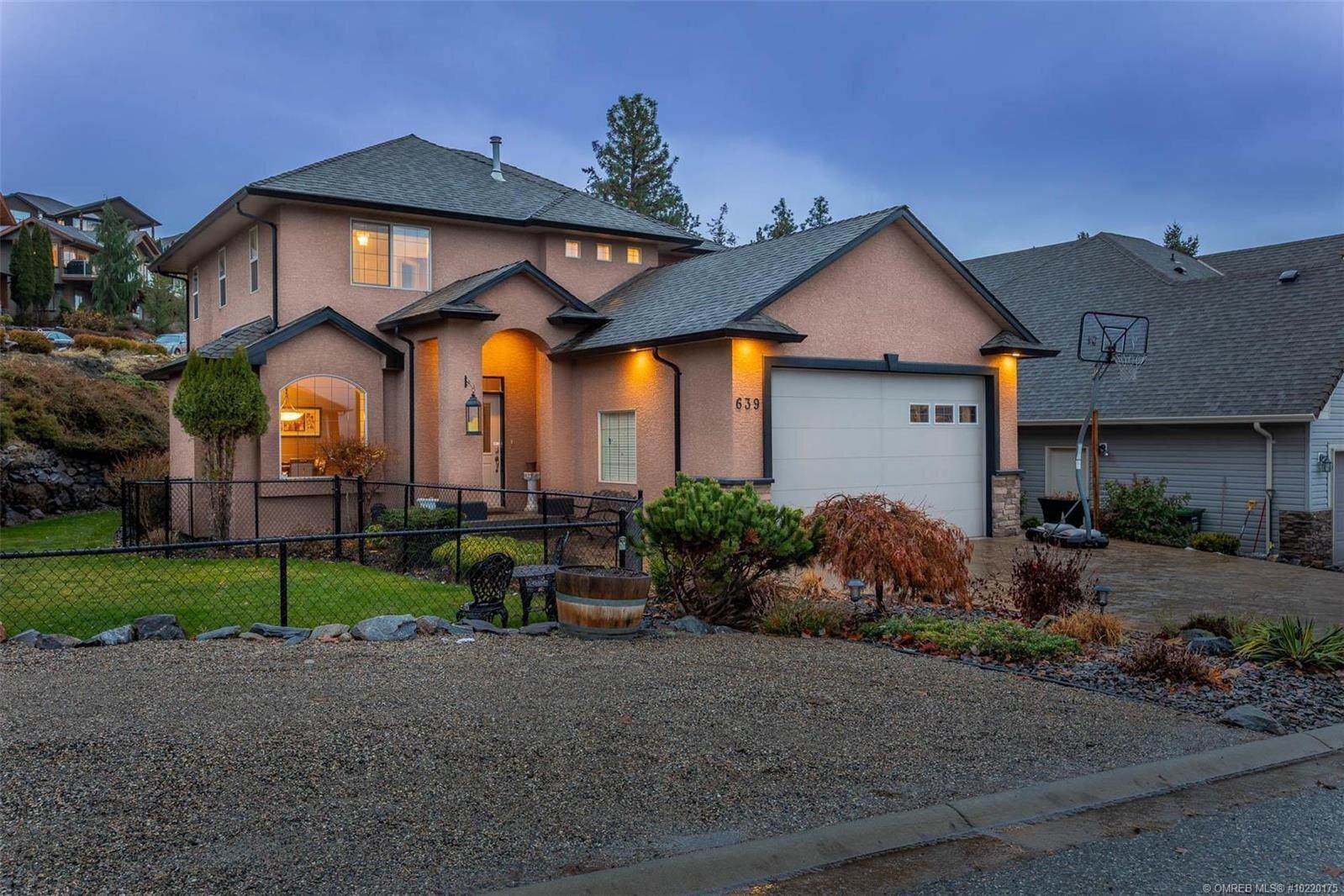 House for sale at 639 Benmore Pl Kelowna British Columbia - MLS: 10220175
