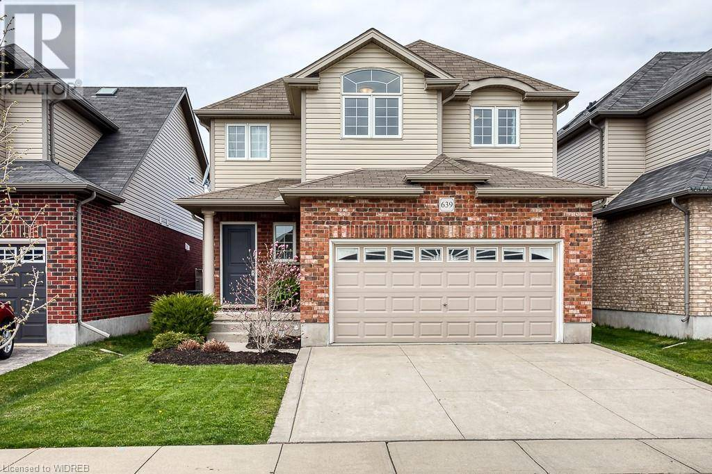 House for sale at 639 Frontenac Cres Woodstock Ontario - MLS: 256562