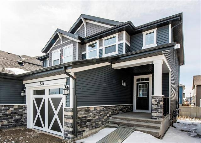 Townhouse for sale at 639 Kingsmere Wy Southeast Airdrie Alberta - MLS: C4282973