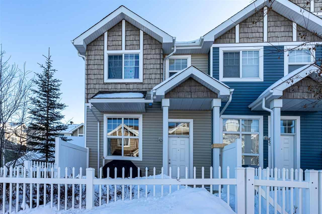 Townhouse for sale at 2051 Towne Centre Blvd Nw Unit 64 Edmonton Alberta - MLS: E4188738