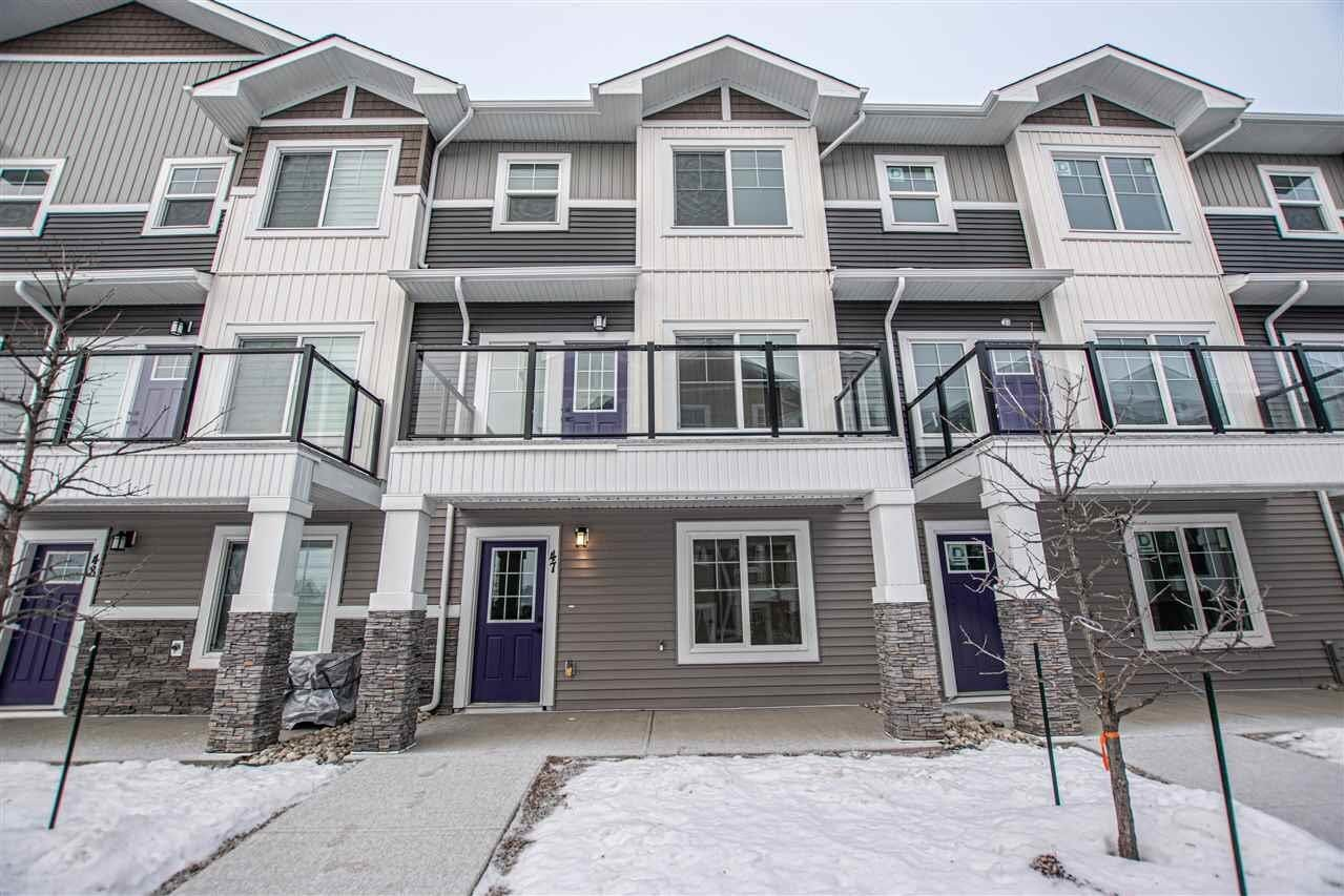 Townhouse for sale at 230 Edgemont Rd NW Unit 64 Edmonton Alberta - MLS: E4223235