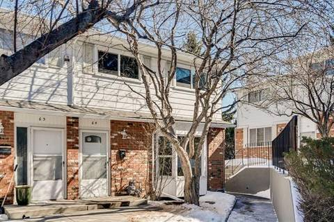 Townhouse for sale at 2815 Palliser Dr Southwest Unit 64 Calgary Alberta - MLS: C4292104