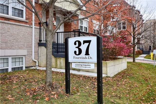 For Sale: 64 - 37 Four Winds Drive, Toronto, ON | 2 Bed, 2 Bath Townhouse for $409,000. See 18 photos!