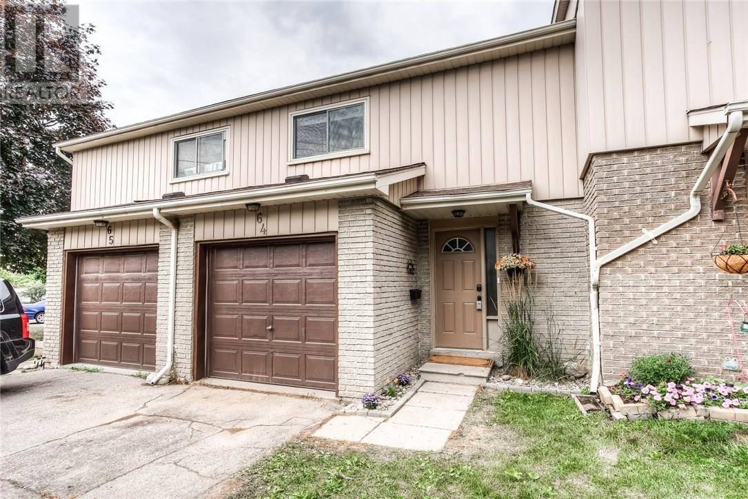 Townhouse for sale at 51 Paulander Dr Unit 64 Kitchener Ontario - MLS: 30752424