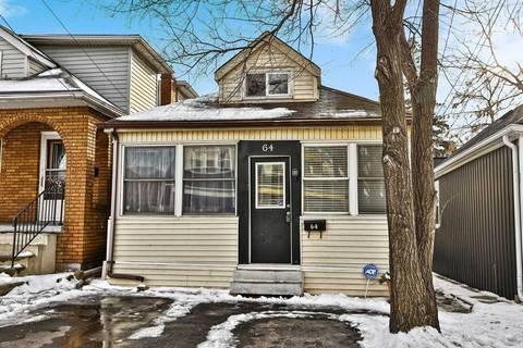 House for sale at 64 Argyle Ave Hamilton Ontario - MLS: X4675450