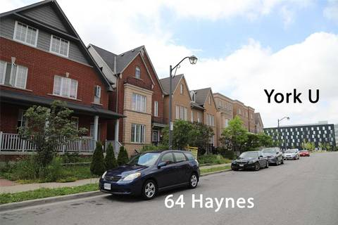 Townhouse for sale at 64 Haynes Rd Toronto Ontario - MLS: W4521196