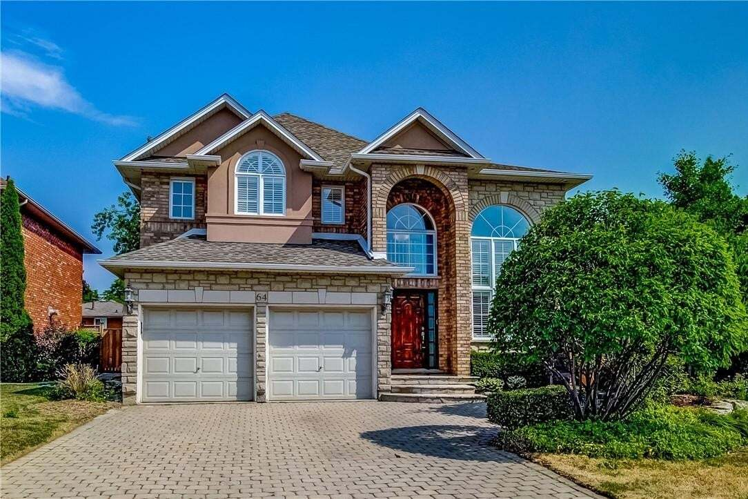 House for sale at 64 Hepburn Cres Hamilton Ontario - MLS: H4082497