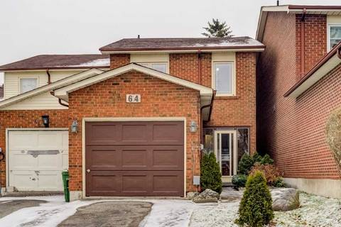 Townhouse for sale at 64 Lady Churchill Ct Toronto Ontario - MLS: E4668983