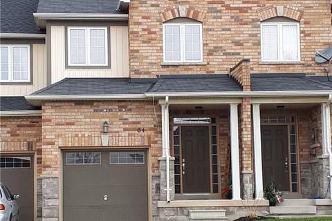 Townhouse for sale at 64 Nisbet Blvd Hamilton Ontario - MLS: X4635070