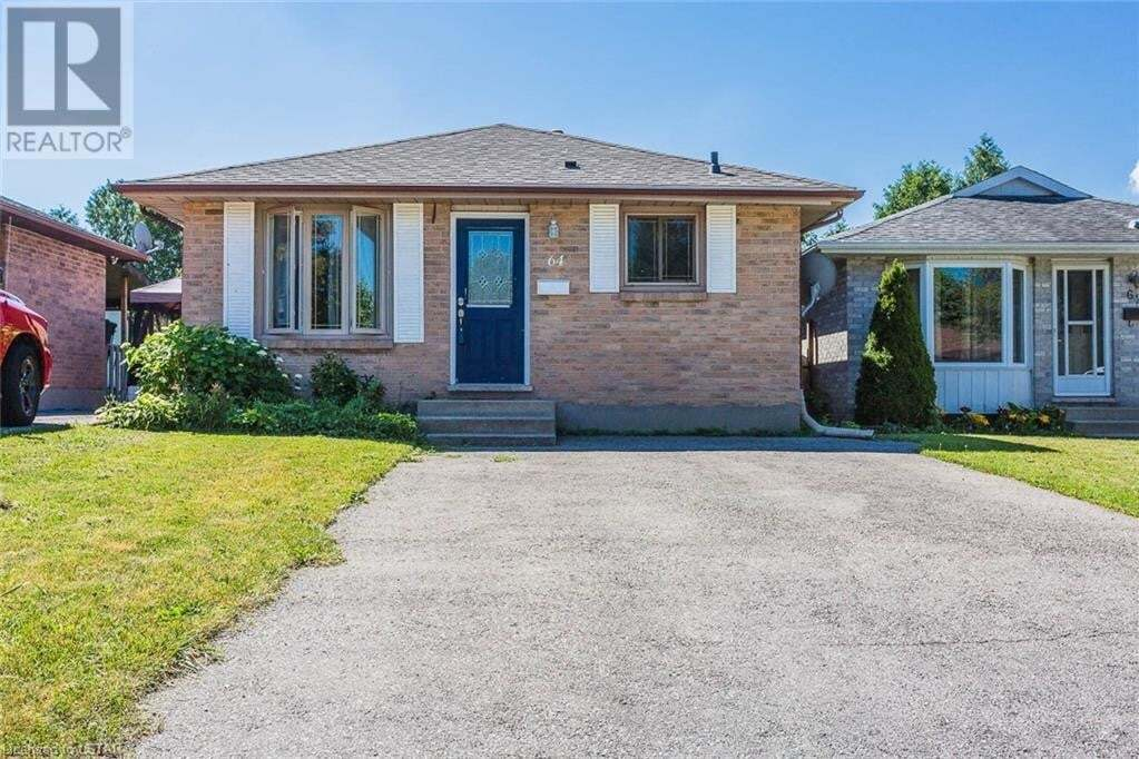 House for sale at 64 Palmerston Pl London Ontario - MLS: 270622