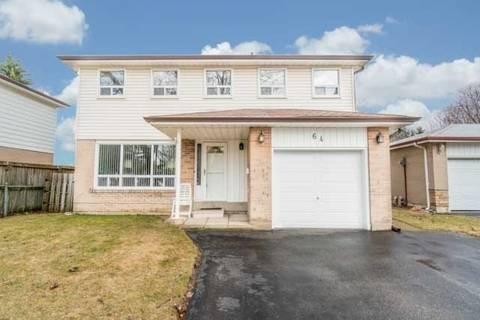 House for sale at 64 Sealstone Terr Toronto Ontario - MLS: E4405582