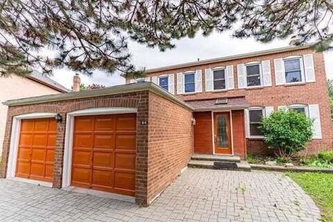 House for sale at 64 Spanhouse Cres Markham Ontario - MLS: N4782819