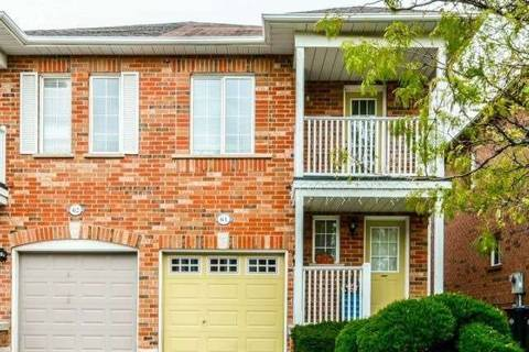 Townhouse for sale at 64 Wilmont St Brampton Ontario - MLS: W4548403