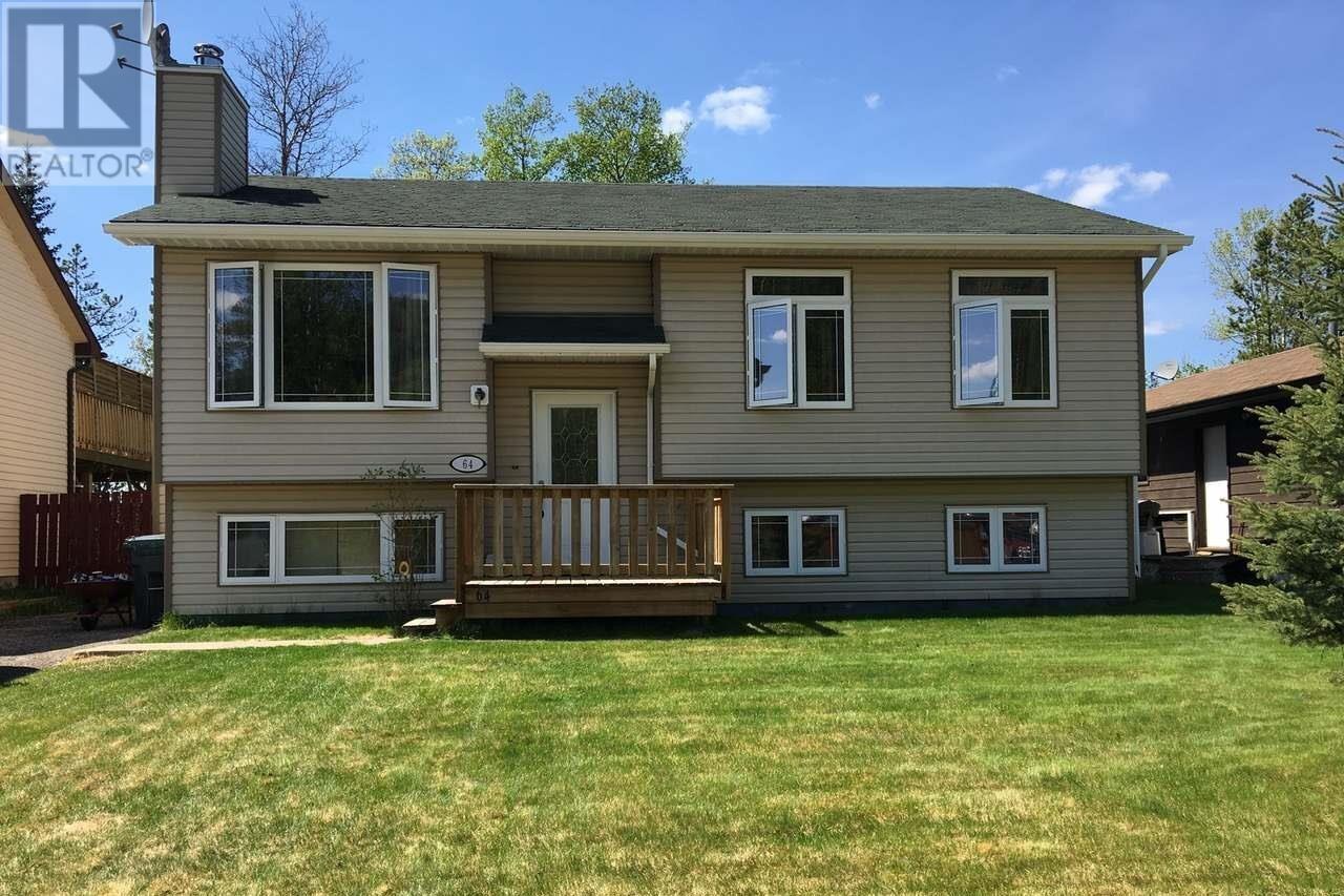 House for sale at 64 Wolverine Pl Tumbler Ridge British Columbia - MLS: 186258