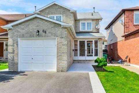 House for sale at 64 Woodside Ct Brampton Ontario - MLS: W4487530