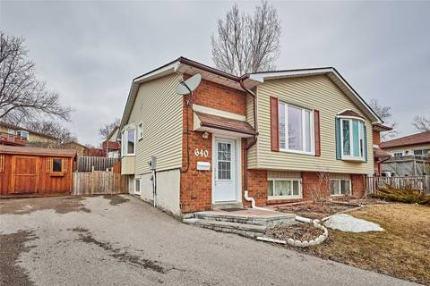 Townhouse for sale at 640 Deauville Ct Oshawa Ontario - MLS: E4403018