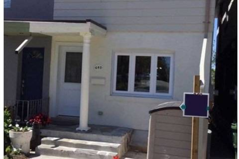 Townhouse for sale at 640 Winona Dr Toronto Ontario - MLS: C4488686