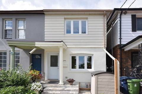 Townhouse for sale at 640 Winona Dr Toronto Ontario - MLS: C4570510