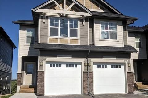 Townhouse for sale at 101 Sunset Dr Unit 641 Cochrane Alberta - MLS: C4262328