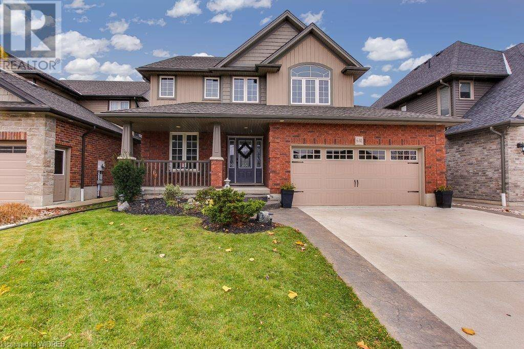 House for sale at 641 Normandy Dr Woodstock Ontario - MLS: 231698