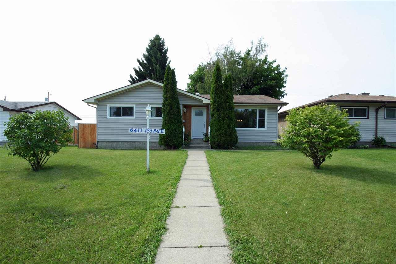 House for sale at 6411 133 Ave Nw Edmonton Alberta - MLS: E4164803