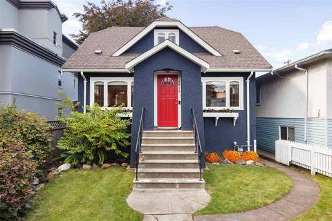 House for sale at 6415 Chester St Vancouver British Columbia - MLS: R2409691