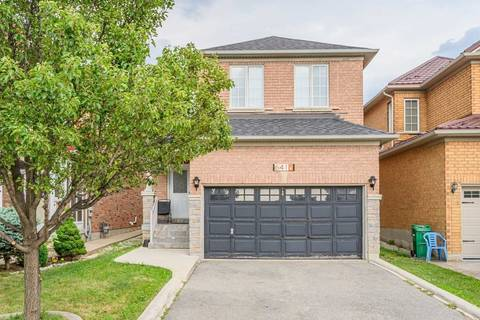 House for rent at 6416 Spinakker Circ Mississauga Ontario - MLS: W4639171