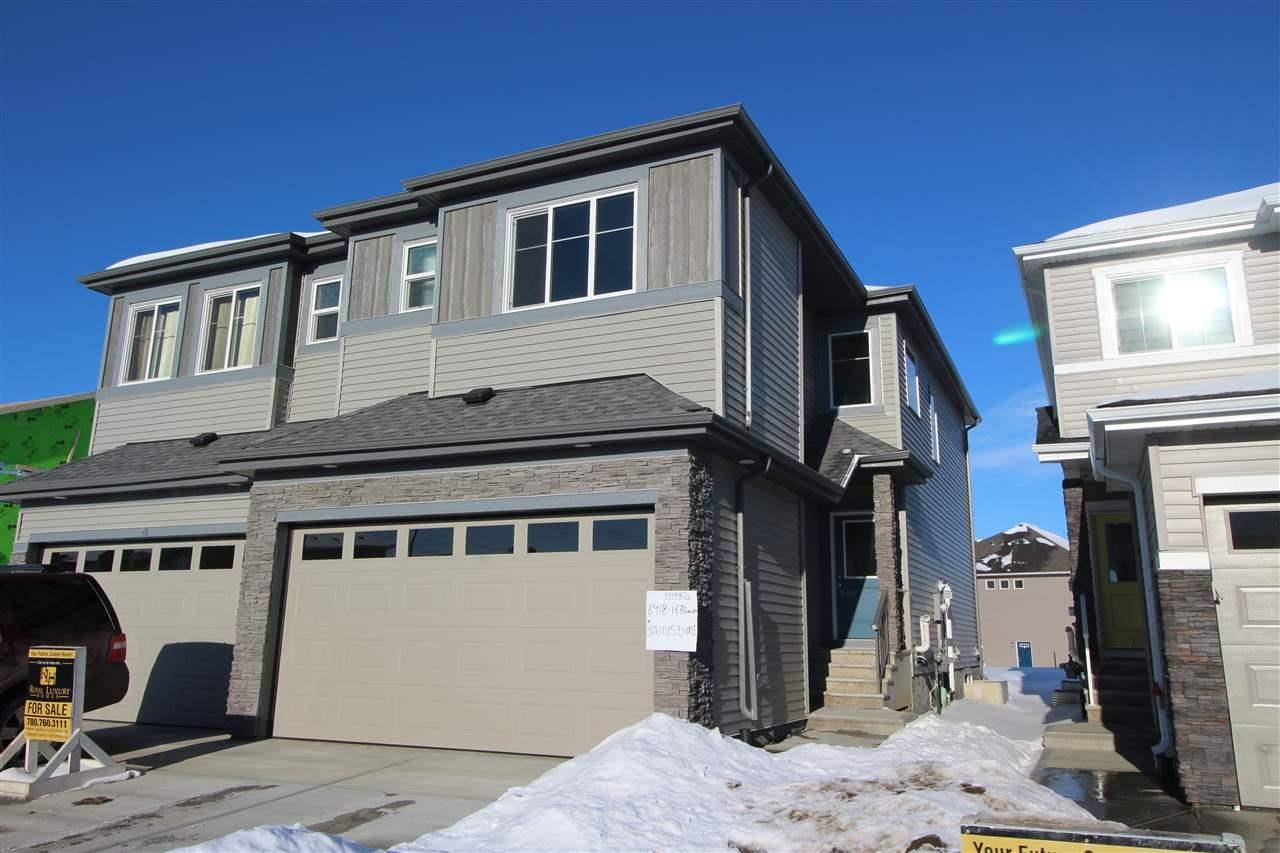 Townhouse for sale at 6418 167a Ave Nw Edmonton Alberta - MLS: E4185466