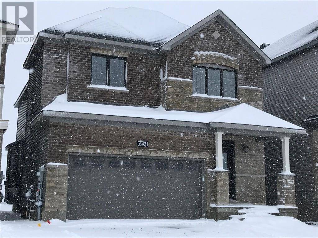 House for rent at 643 Jerome Jodoin Dr Ottawa Ontario - MLS: 1177302