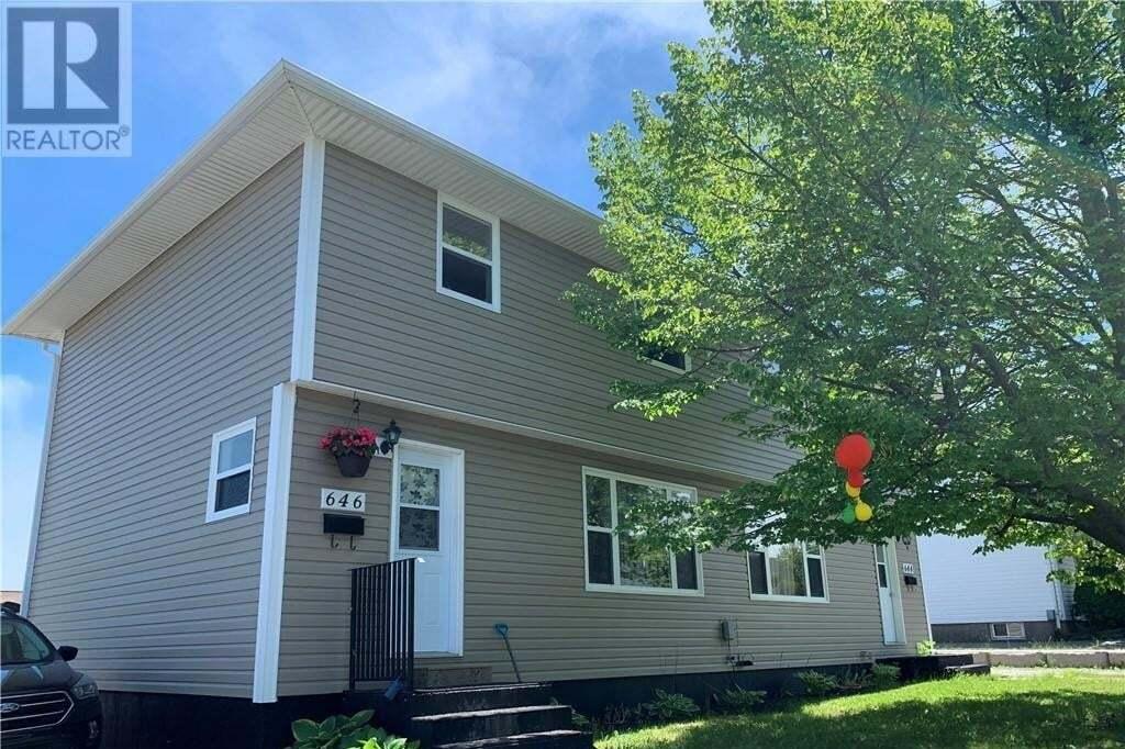 Townhouse for sale at 646 Michael Cres Unit 644 Saint John New Brunswick - MLS: NB044992