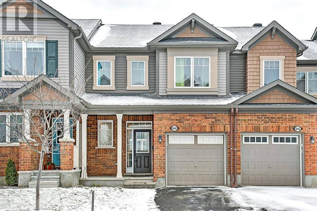 Townhouse for sale at 644 Bluegill Ave Ottawa Ontario - MLS: 1176863