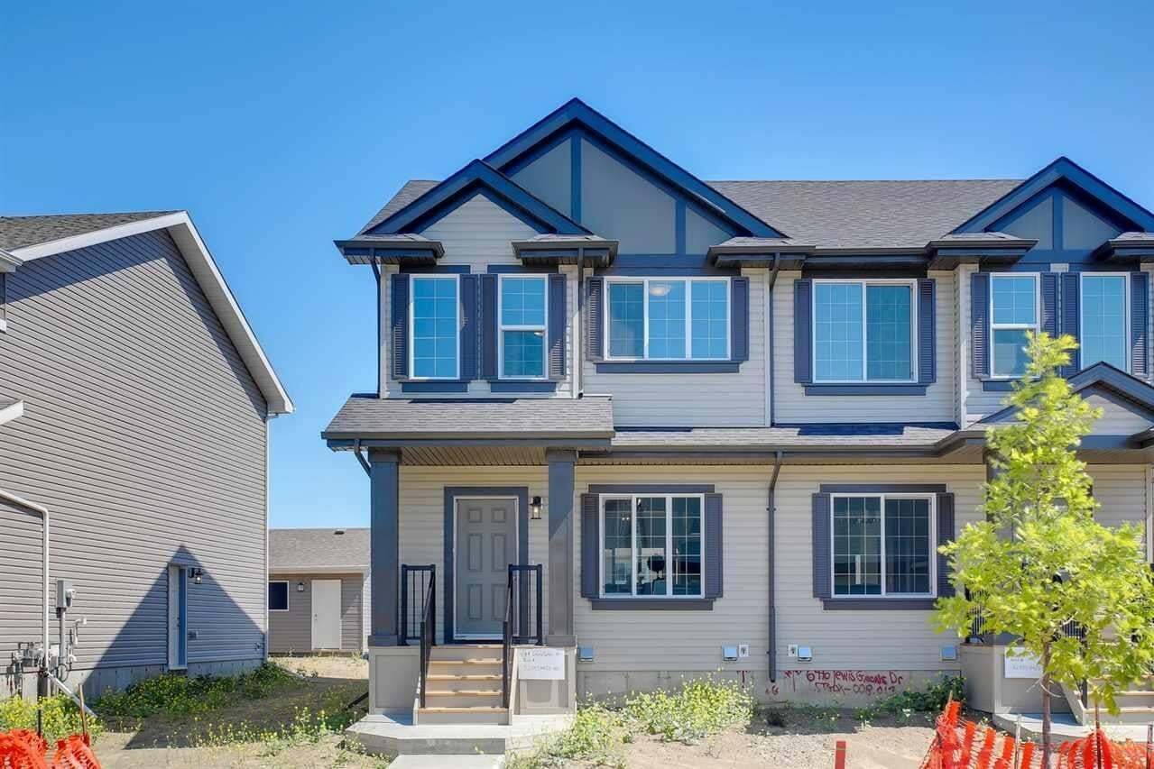 Townhouse for sale at 644 Lewis Greens Dr NW Edmonton Alberta - MLS: E4208189