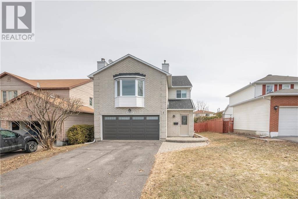 House for sale at 6447 Viseneau Dr Ottawa Ontario - MLS: 1187843