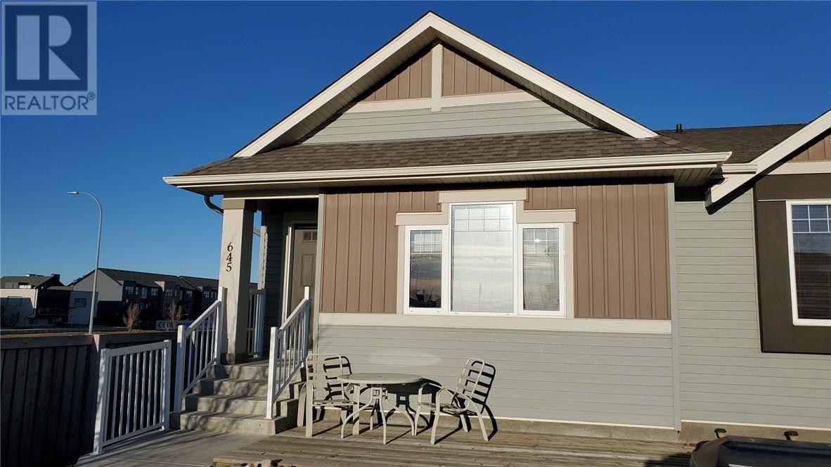 Townhouse for sale at 645 Silkstone Pt W Lethbridge Alberta - MLS: ld0189792