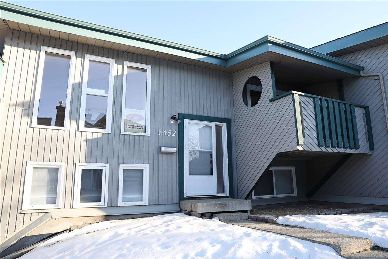 Townhouse for sale at 6452 178 St Nw Edmonton Alberta - MLS: E4182723