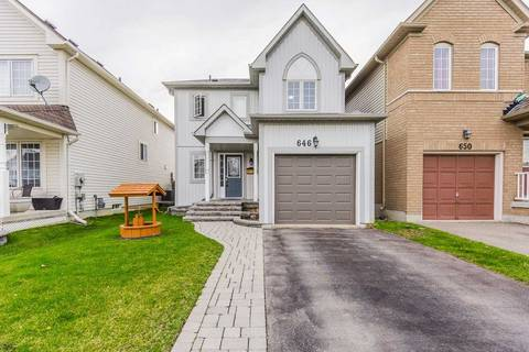 House for sale at 646 Brasswinds Tr Oshawa Ontario - MLS: E4425546