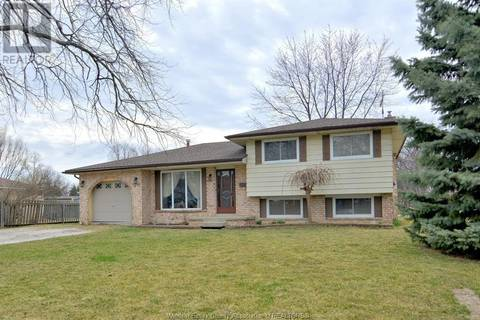 House for sale at 646 Estate Park  Tecumseh Ontario - MLS: 19016065