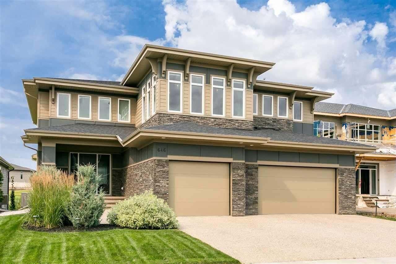 House for sale at 646 Howatt Dr SW Edmonton Alberta - MLS: E4211292