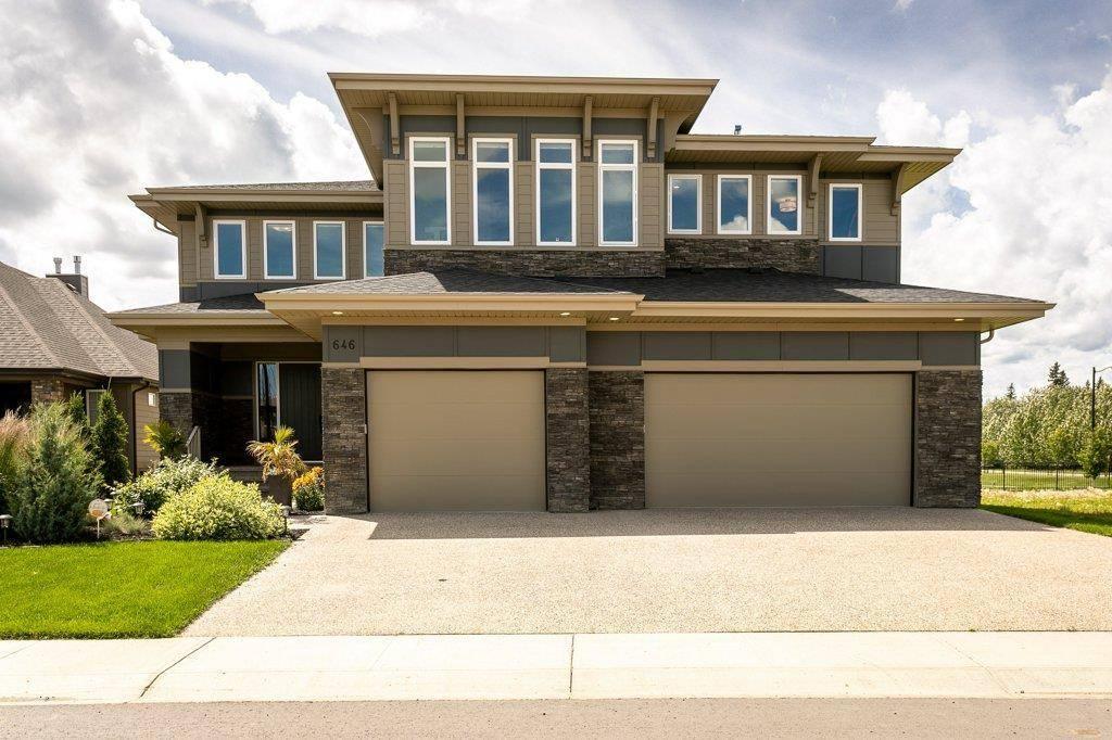 House for sale at 646 Howatt Dr Sw Edmonton Alberta - MLS: E4167885