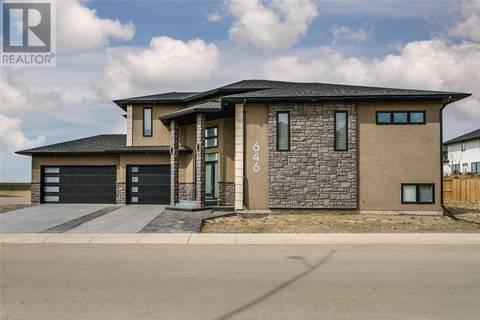House for sale at 646 Kloppenburg Ter  Saskatoon Saskatchewan - MLS: SK768604